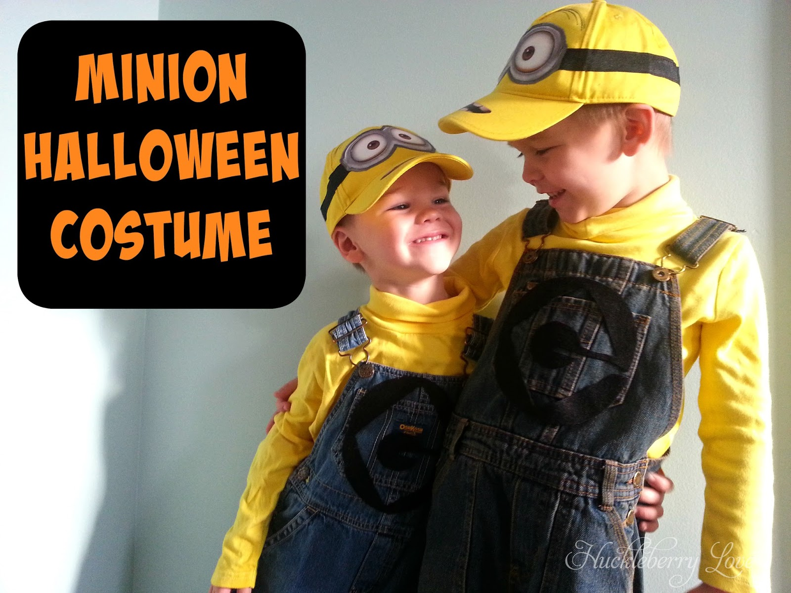 Simple Halloween Costume Despicable Me Minion  sc 1 st  Huckleberry Love & Huckleberry Love: Simple Halloween Costume Despicable Me Minion