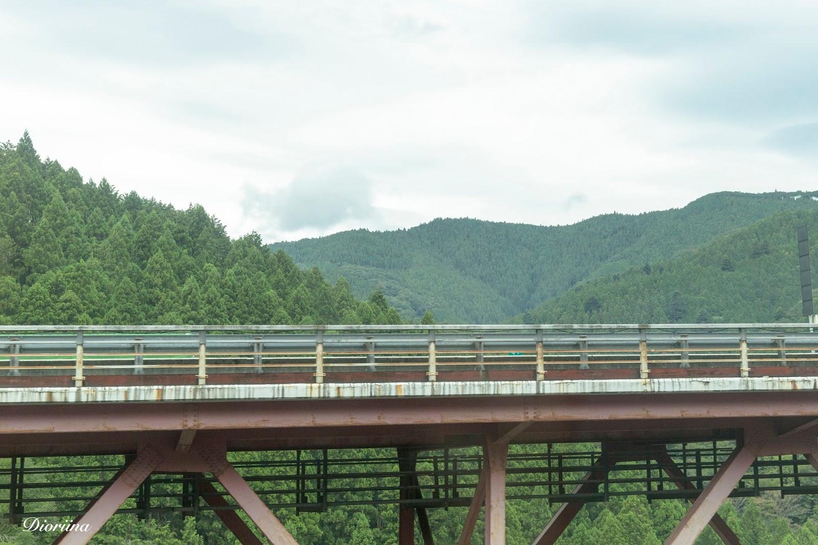 Japanin vuoristoa
