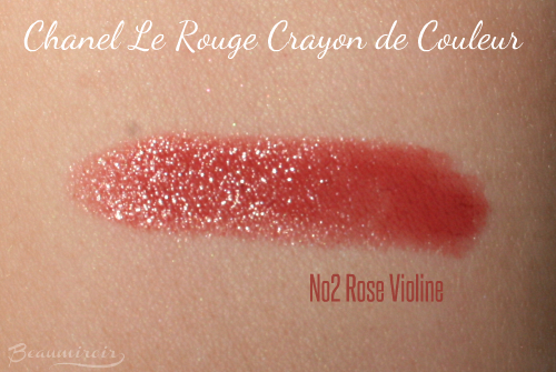 Chanel Le Rouge Crayon de Couleur 2 Rose Violine swatch