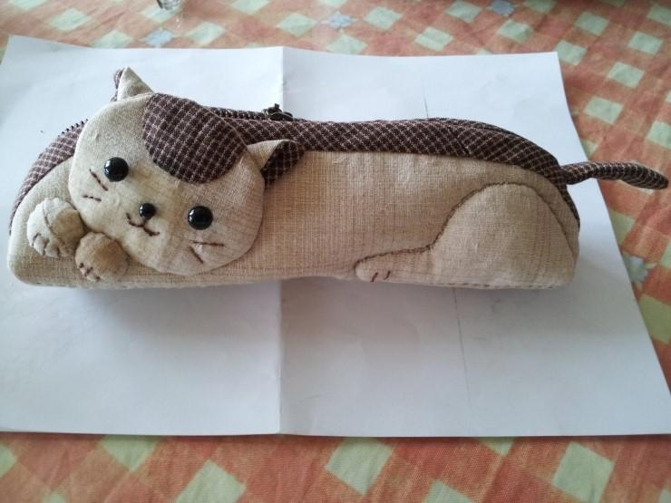 Cat Pencil Case. DIY tutorial ~ DIY Tutorial Ideas!