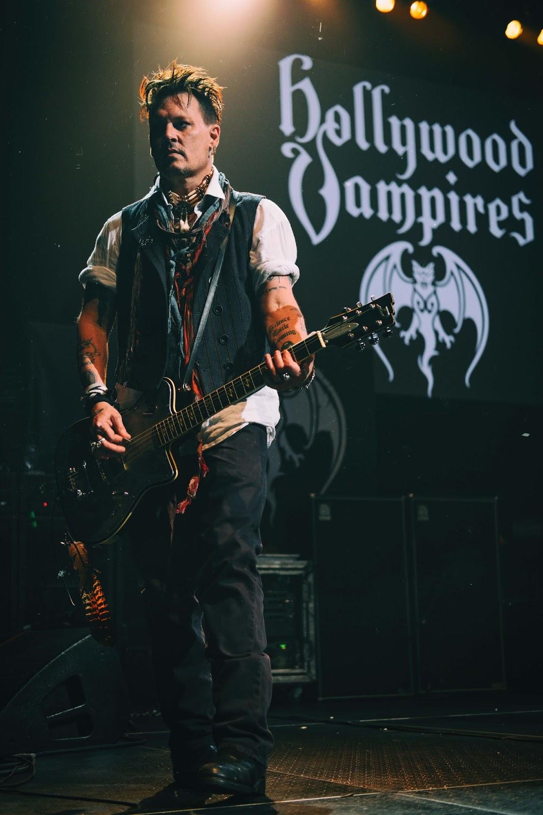 Johnny Depp: Hollywood Vampires: Turning Stone 2016 Photos ...