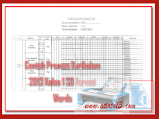 Contoh Promes Kurikulum 2013 Kelas 1 SD Format Words