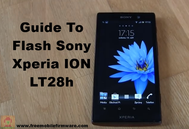 Sony Xperia ION LT28h Jelly Bean 4.1.2 Tested Firmware