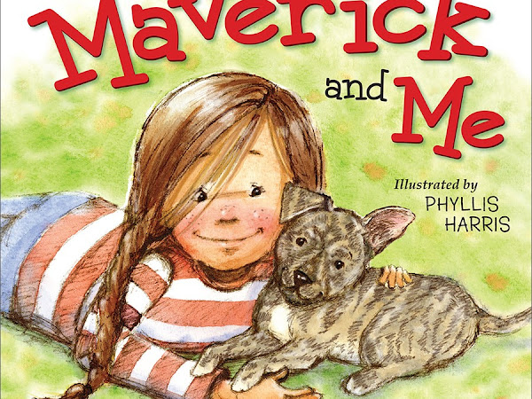 Celebrate National Adopt-A-Shelter-Dog Month with a Maverick & Me Children's Book Giveaway! #MaverickandMe