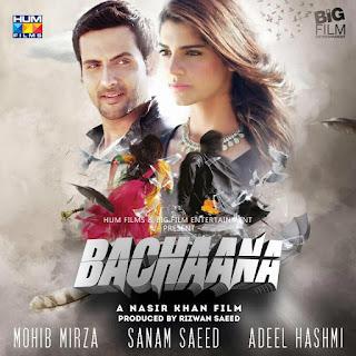 Poster Of Urdu Movie Bachaana 2016 Full HD Movie Free Download 720P Watch Online