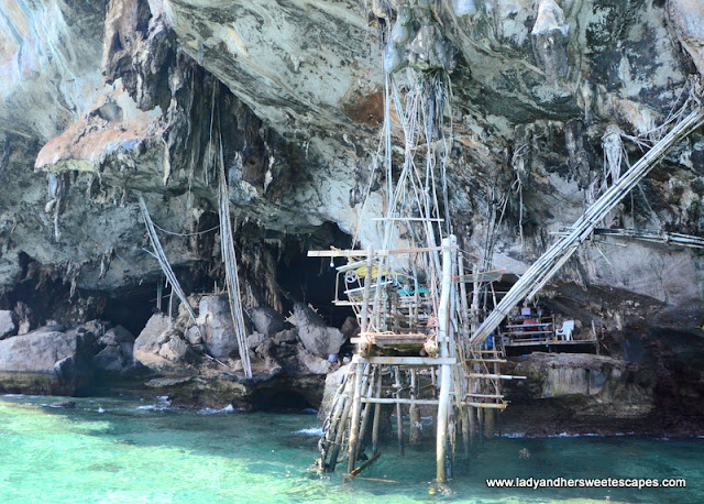 Birds Nest Cave in Phi Phi