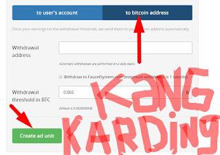 Mendapatkan bitcoin dengan mengikuti program Anonymous ads