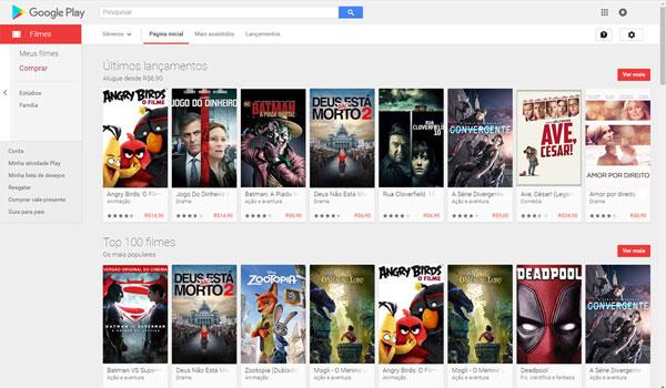 Google Play - filme online