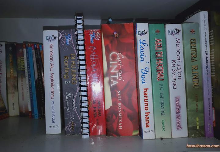 Koleksi novel preloved beli online harga murah