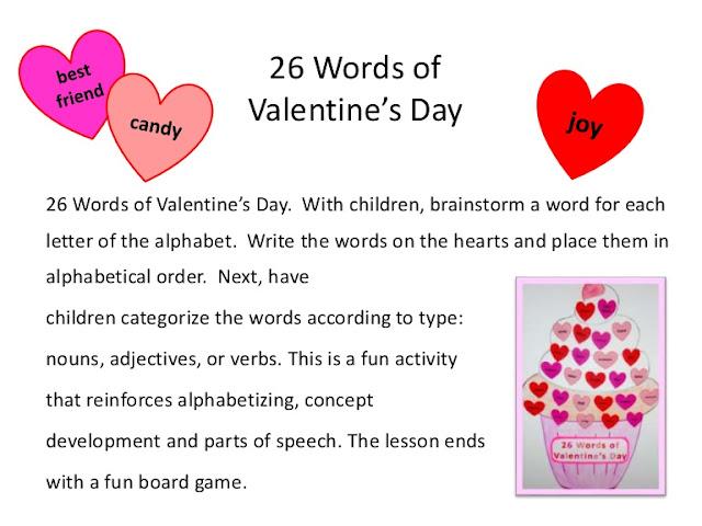speaking of speech valentine day