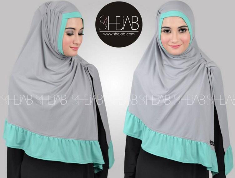 Atasi Gerahmu Dengan Penggunaan Hijab Terbaru Berbahan Kaos