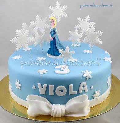 cake design pasta di zucchero elsa frozen decorazione modecor cake art polvere di zucchero