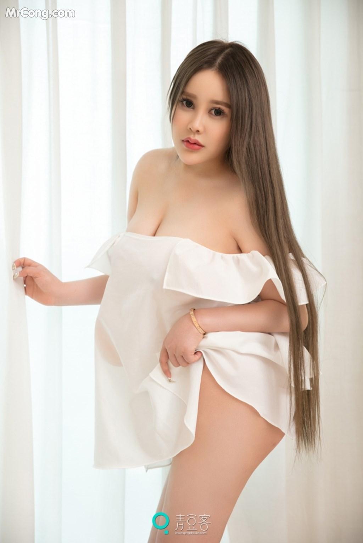 Image QingDouKe-2017-10-04-Ni-Shi-Yin-MrCong.com-009 in post QingDouKe 2017-10-04: Người mẫu Ni Shi Yin (倪詩茵) (51 ảnh)