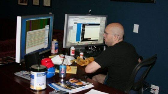 Ruang Kerja Blogger Profesional - Jeremy Shoemaker