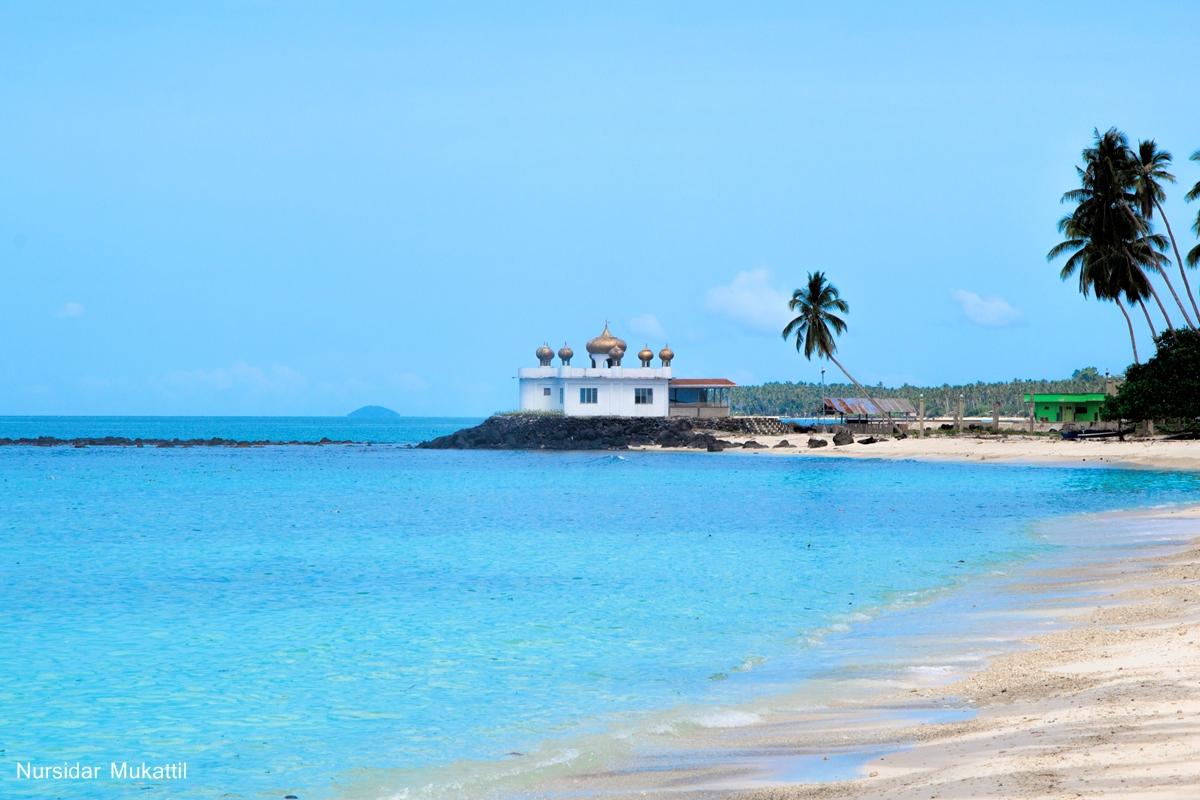 Masjid at an Island