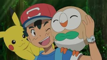 Pokémon Sol y Luna Capitulo 4 Temporada 20 Aparece Rowlet