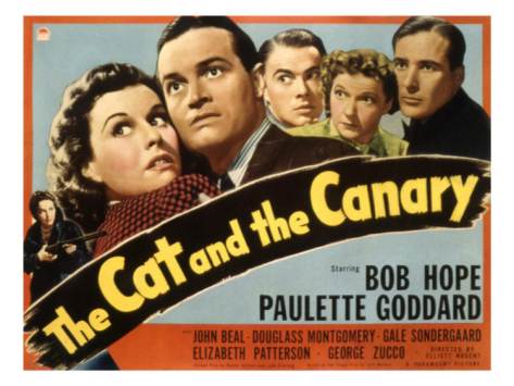 Image result for the cat and the canary 1939 POSTER