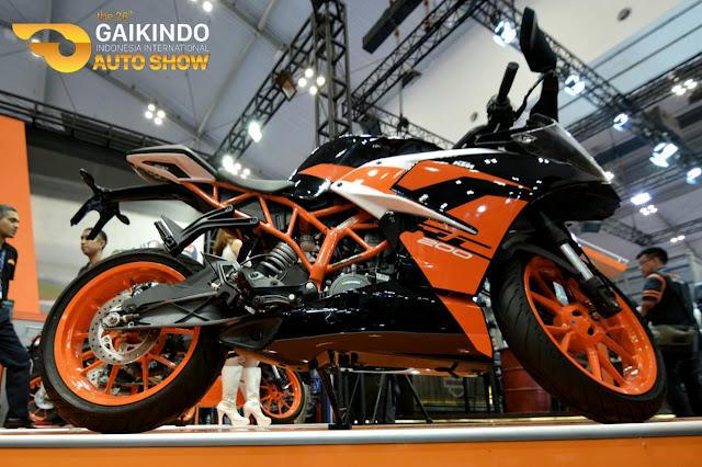 KTM New RC 200