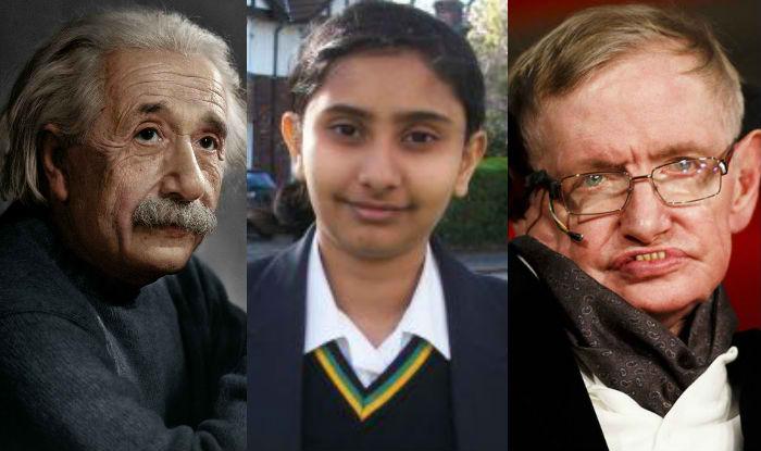 Rajgauri Pawar, Albert Einstein, Stephen Hawking