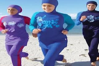 Burkini ~ Pakaian Renang Islami