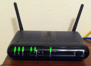 The Hot Zone Review: Actiontec DSL Modem GT784WN
