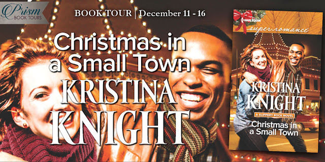 We're launching the Book Tour for CHRISTMAS IN A SMALL TOWN by KRISTINA KNIGHT!