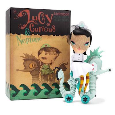 Dark Harbor's Lucy Curious Vinyl Figure by Kathie Olivas x Kidrobot