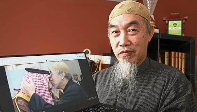 Fotonya Menjadi Viral, Mualaf Tionghoa Ini Ungkap Pengalamannya Bertemu Dengan Raja Salman