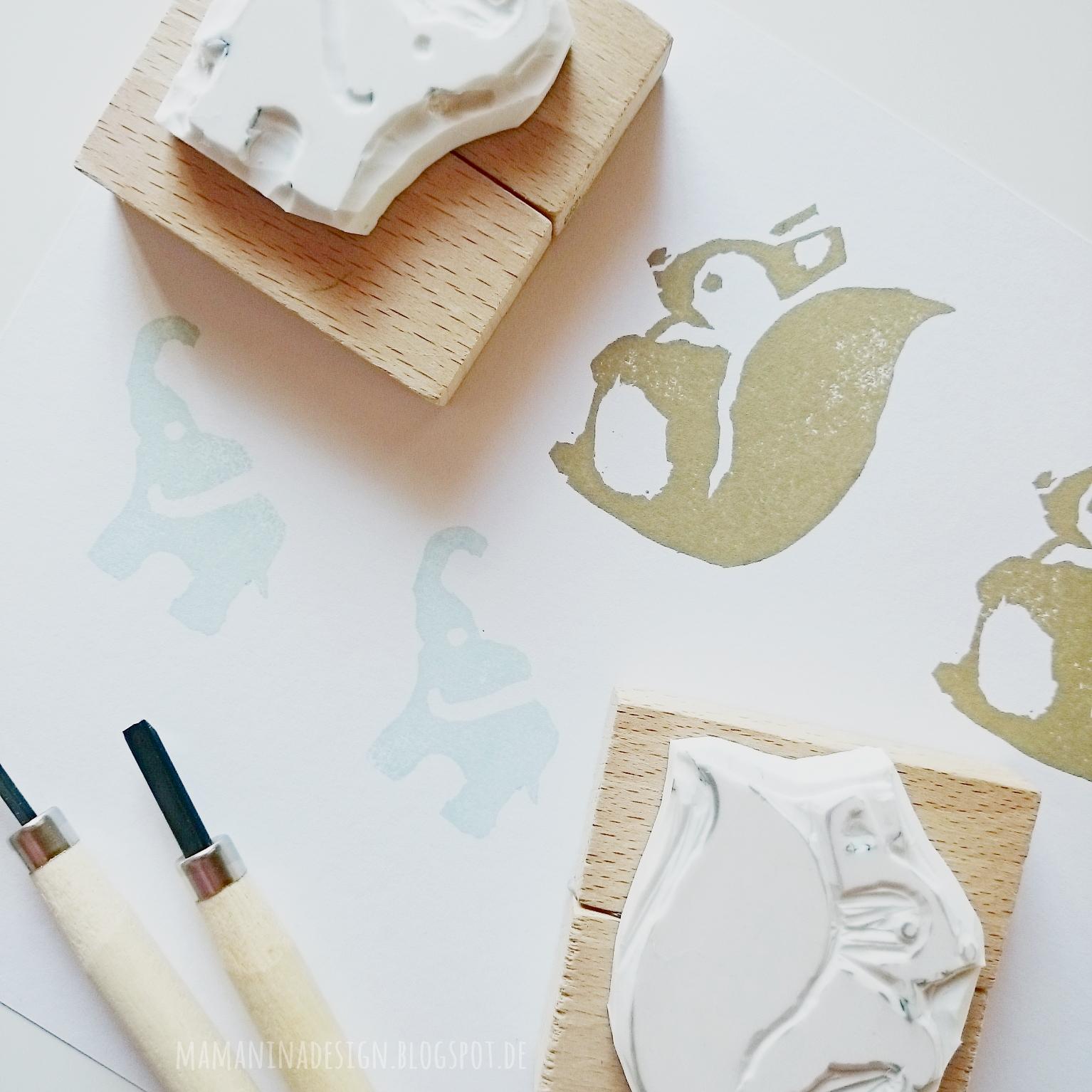 mama nina stempel selber machen ein buchtipp. Black Bedroom Furniture Sets. Home Design Ideas