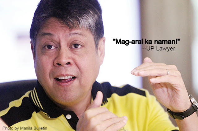 UP Lawyer slams Pangilinan over Napoles state witness remark: 'Mag-aral ka naman'