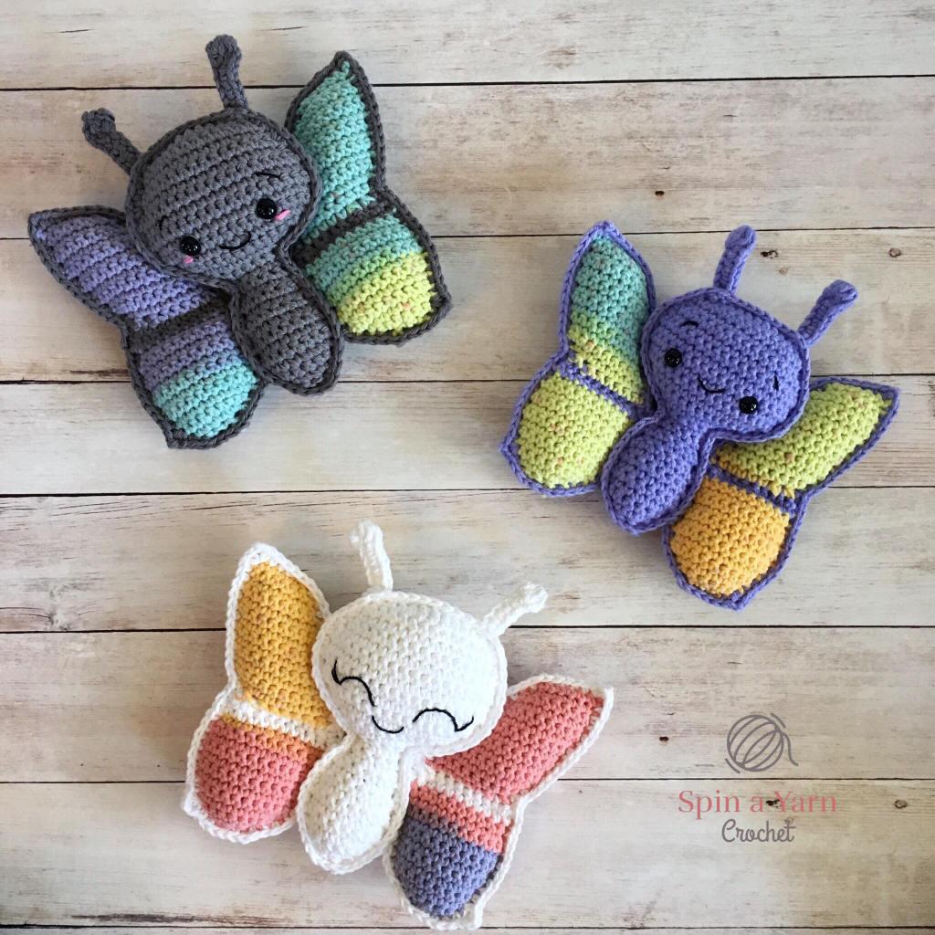 Supercute Crochet Butterfly Superschattige Vlinder Haakpatroon