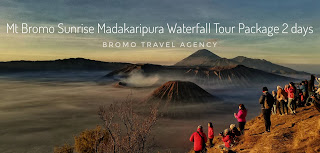 Mt. Bromo Sunrise Madakaripura Waterfall Tour Package 2 Days 1 Night
