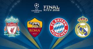 Hasil Lengkap Perempat Final & Jadwal Semifinal Liga Champions