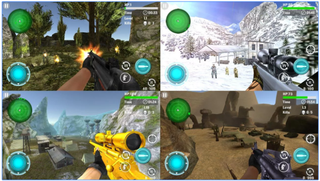Game Fps Android Offline Ringan