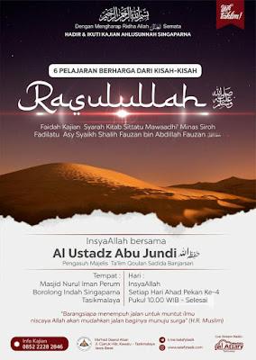 Kajian Sittatu Mawadhi minas Sirah - Al Ustadz Abu Jundi