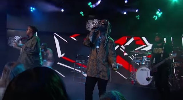 "Ty Dolla $ign & Jeremih Perform ""The Light"" On Jimmy Kimmel"