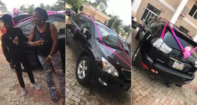 Gossip: 17-year-old Nigerian Boy purchases his mother a car(Photos/Video)