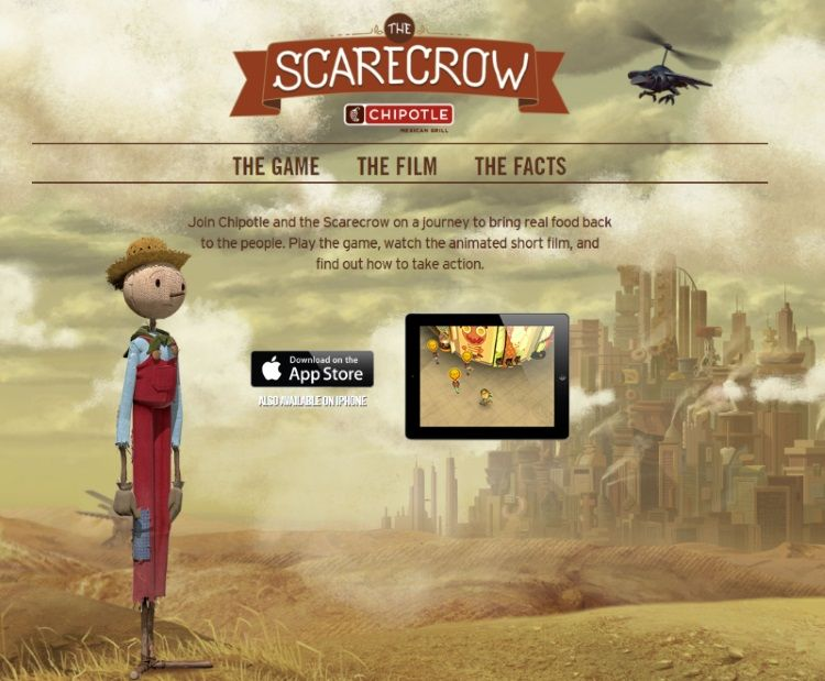 Sitio web The Scarecrow