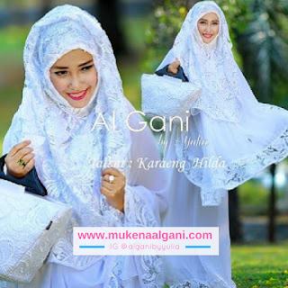 mukena%2Bprada%2Bswarowsky12 Koleksi Mukena Al Ghani Terbaru Original