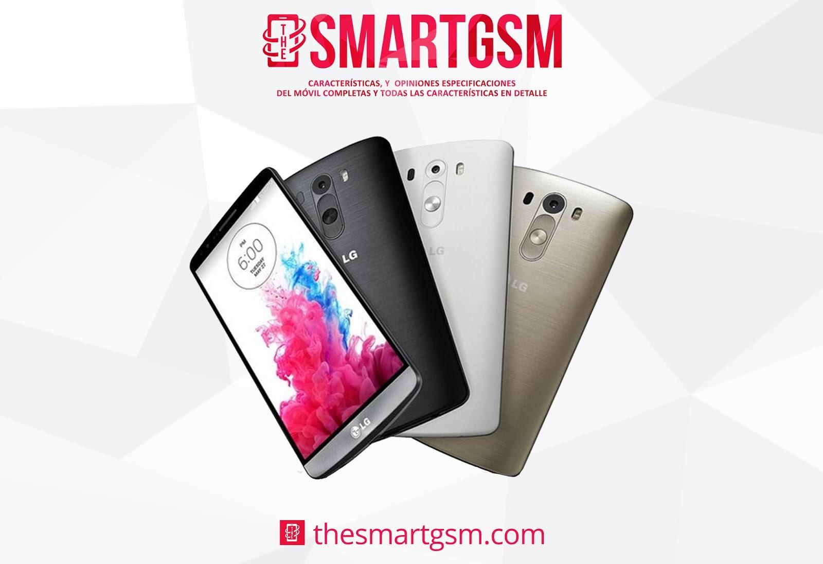 Últimas especificaciones móvil LG G3