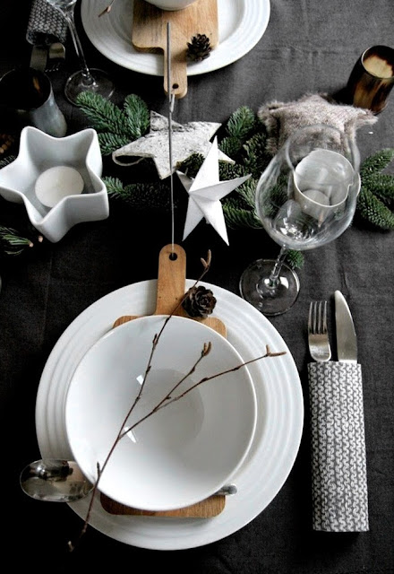 http://www.thereseknutsen.no/christmas-table-settings/