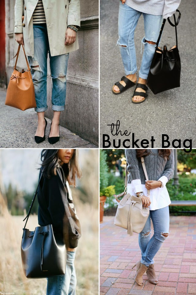 How to style and wear the bucket bag