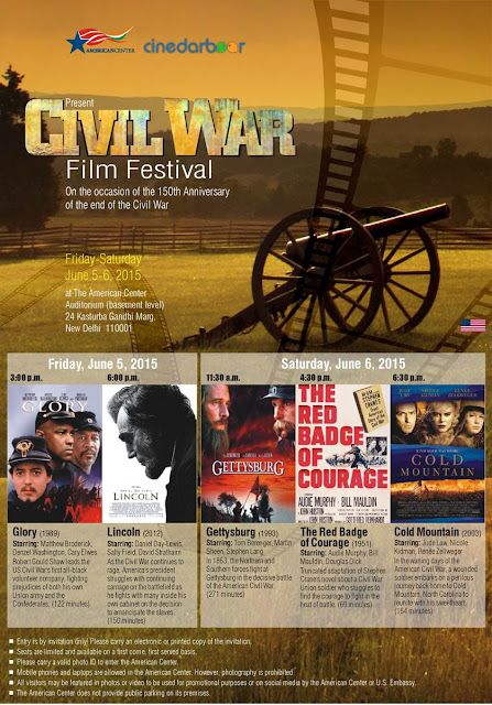 American Civil War, Film Poster, Cinedarbaar, American Center