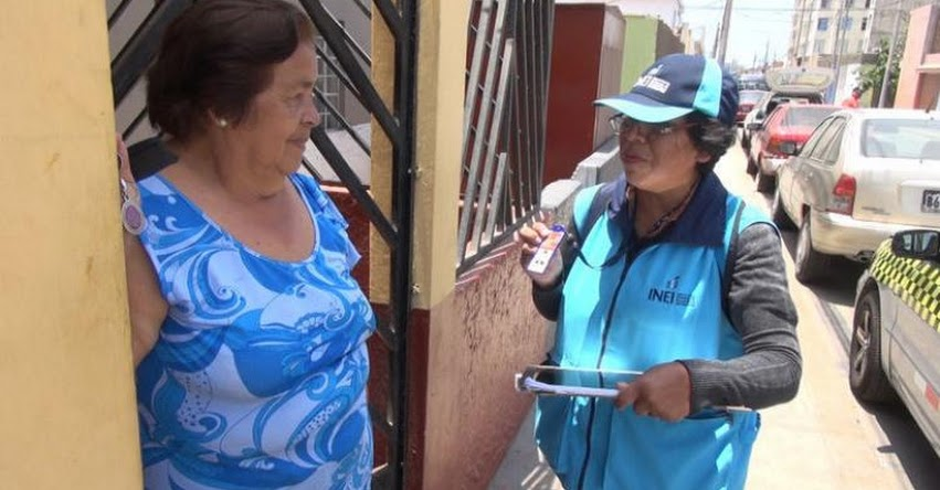 CENSO 2017: Personas que no acaten inamovilidad serán censadas en comisarías - INEI - www.inei.gob.pe