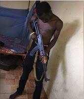 I will kill as many dogs as possible - COP says and flosses AK-47 ahead of NASA demos.