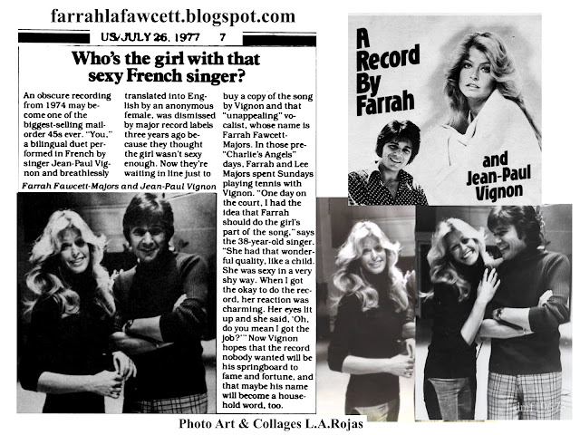 1977-79 Farrah Fawcett Records Songs and Movie Albums