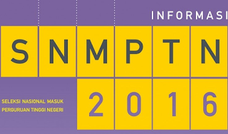 seleksi nasional masuk perguruan tinggi negeri 2016