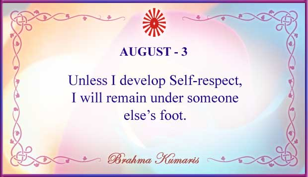 Thought For The Day August 3