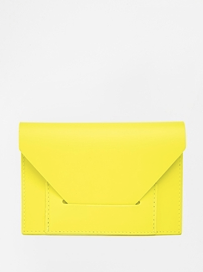 cute yellow clutch
