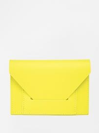 cute yellow clutch